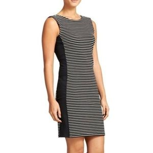 Athleta Mala Tank Black Striped Dress S 43882